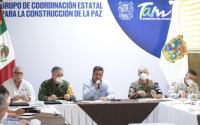 Gobierno de Tamaulipas e INM acuerdan medidas para atender situación migratoria.