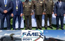 Asiste Gobernador de Tamaulipas en Feria Aeroespacial México FAMEX 2021.