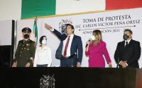 Protesta Carlos Peña Ortiz como Presidente Municipal de Reynosa