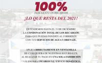 Anuncia COMAPA Reynosa ampliación de condonación de recargos al 100 por ciento hasta el 31 de Diciembre