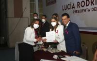 Sistema DIF Victoria encabezado por la presidenta Lucía Rodríguez de Gattás llevó a cabo la instalación y toma de protesta.