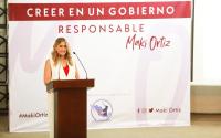 Miguel Alemán recibe con muestras de agradecimiento a Maki Ortiz